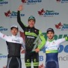 Dutch cyclist wins stage three of Tour of Alberta