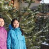 How tall can you go? Sustainability club hosts tree growing contest