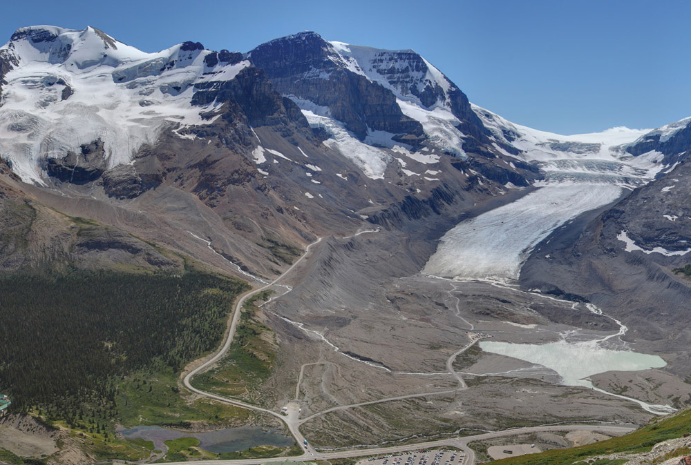 c7a37fea7772 National Park News  Columbia Icefield apex of Canada s fresh water ...