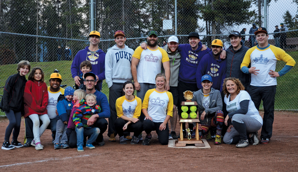 Barley Kings reign supreme in slo-pitch league – Jasper's