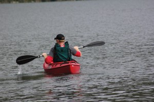 Up until recently Victoria's Mike Seinen, a retired Royal Canadian Navy officer, wasn't sure if he would ever kayak again. Jasper's Veteran Adventures just made that possible with the creation of its newly created kayak. K. Byrne photo