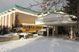 Jasper Elementary School is investigating allegations of cyber-bullying after an incident at the Jasper Arena lead to criminal charges against a parent. File photo