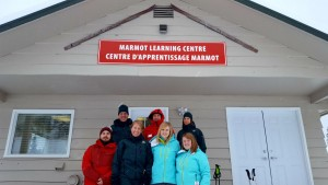 Marmot Basin's old avalanche control building was recently renovated to make room for the Marmot Learning Centre, which is jointly operated by Marmot Basin, Parks Canada and the Grande Yellowhead Public School Division. P. Clarke photo