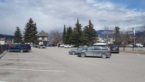 Council voted against a motion to add up to 14 new parking spots in the municipal parking lot on Patricia Street (pictured here), April 18.  P. Clarke photo