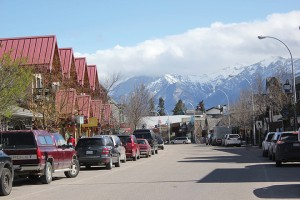 The retail sector in Jasper has been hardest hit according to a recent business survey. P Clarke photo.