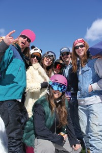 Marmot wrapped up the season on May 7 with retro day. P. Clarke photos.